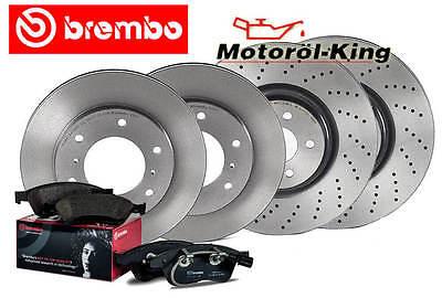 BREMBO Bremsenset für MERCEDES S-Klasse (W221)   SL (R230) VA 350MM+ HA 320MM