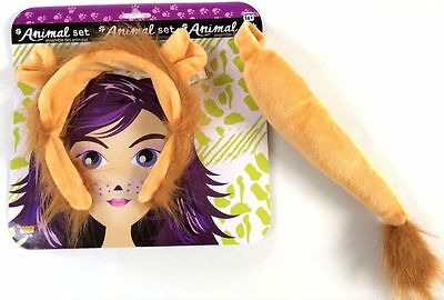 Lion Kit - Ears and Tail Set](Lion Ears And Tail)