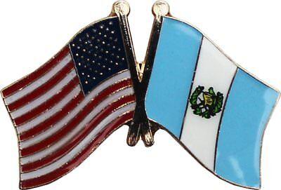 Wholesale Pack of 50 USA American Guatemala Flag Hat Cap lapel Pin