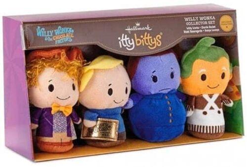 Willy Wonka & the Chocolate Factory Hallmark Itty Bitty Willy Wonka CollectorSet