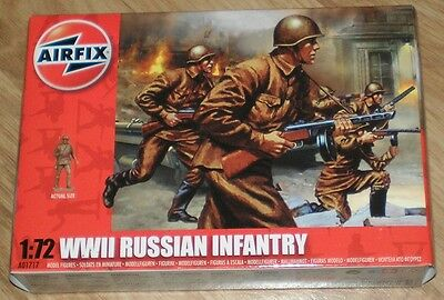 1/72 AIRFIX   WWII RUSSIAN INFANTRY