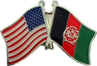 Wholesale Pack of 50 USA American Afghanistan Friendship Flag Hat Cap lapel Pin