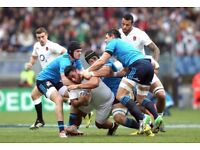 Italy v England 6 nations rugby ticket 2018