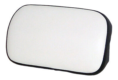 Small Backrest Cushion Black And White Vinyl For Oliver 1255 1355 Tractors
