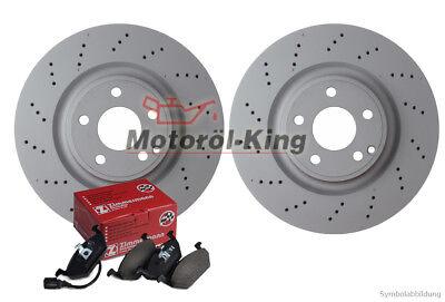 Gebraucht, Zimmermann Bremsenset gelocht  AUDI A6, A6 Allroad, A6 Avant, A8 Vorne 321MM gebraucht kaufen  Appelbeck