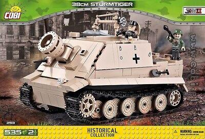 COBI 2513 - SMALL ARMY - WWII Dt. 38cm STURMTIGER - NEU