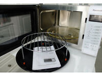 Panasonic microwave oven, white, with conventional oven & grill, NN-CT555W