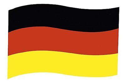 Deutschland -Fahne magnetisch Fanartikel für die Autotür 30x19cm Fußballschild