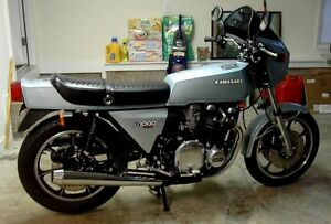Kawasaki 900 KZ LTD Mk.II Z1-R bikes and parts