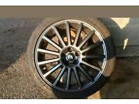 Genuine MK4 VW R32 alloys 225/40/18