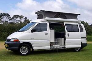 Toyota Hiace SBV Frontline Campervan Loaded with Features Albion Park Rail Shellharbour Area Preview