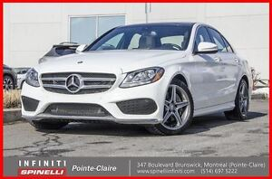 2015 Mercedes-Benz C-Class C300 4MATIC AMG PACKAGE NAVIGATION/ N