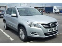 2008 VW TIGUAN 2.0 TDI, FULL SERVICE HISTORY, ONLY 62K MILES, STUNNING VEHICLE