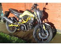 Kymco k-pipe 125cc