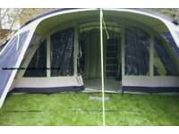 Outwell wolf lake 7 tent sleeps 10 used once