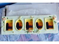 Small five photos, picture frame, brand new, quick sale at only £5, costs £19.95