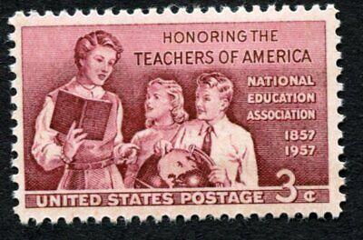 HONORING TEACHERS OF AMERICA - 1957 Scott 1093 U.S 3-cent MNH/OG Excellent (543)