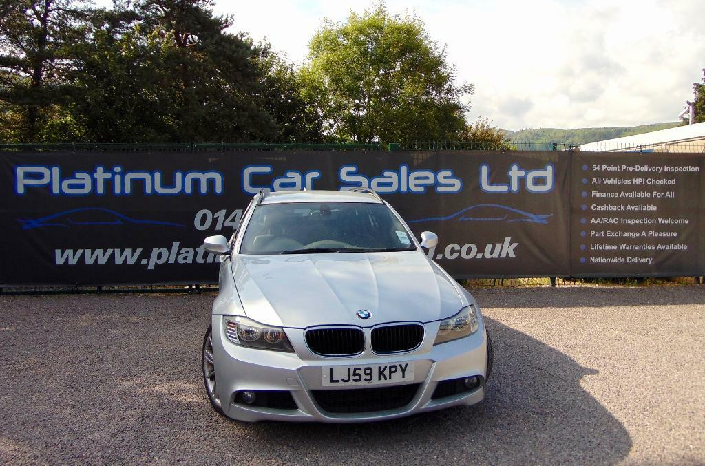 BMW 3 SERIES 320D M SPORT BUSINESS EDITION TOURING (silver) 2009 ...