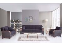 supreme Turkish sofa bed with storage brand new we do same or next day delivery
