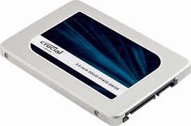 Brand new & boxed - 3yr warranty / Crucial MX300 525GB SATA 2.5 Inch Internal SSD / 9.5mm Adapter