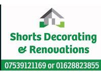 Shorts decorating and renovations