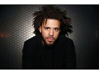 2 standing tickets for J Cole on the 16th October at the O2 London