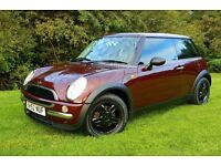 Mini One BMW 1.6 Full Leather FULL MOT 89k FSH. Fiesta Micra Corsa Yaris Astra Polo Golf Ibiza Leon