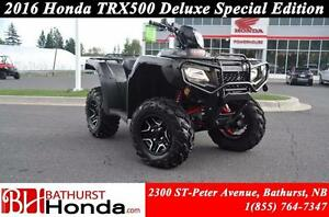 2016 Honda TRX500 Rubicon Deluxe Mag Wheels! Independant Rear Su