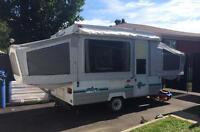 Tent trailer in great condition 514-688-3113