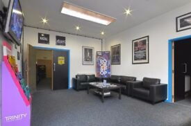 Professional Standard Guitar Lessons, purpose built studios in the JQ