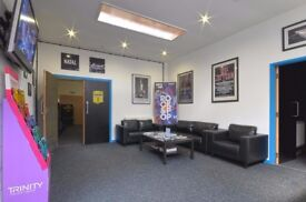 Professional Standard Guitar Lessons, purpose built studios in the JQ