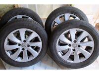 Citroen Berlingo C4 Alloy Wheels Set Of Four (Nice Wheels)