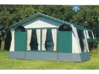 conway countryman trailer tent / folding camper plus extrad