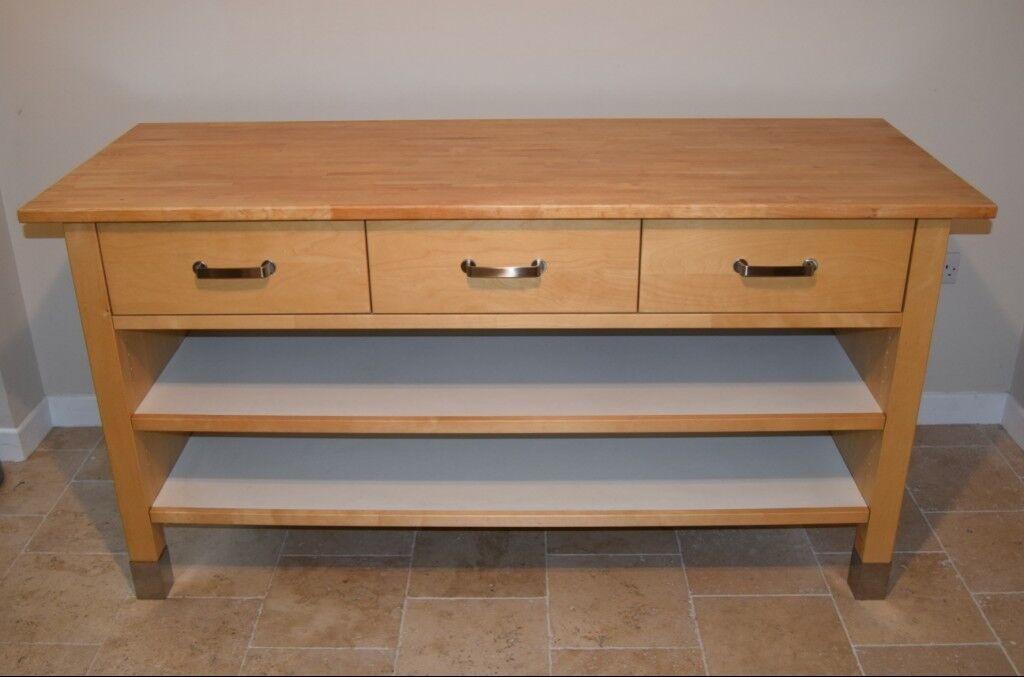 Ikea Varde Kitchen Island Worktop Or Dresser Or Sideboard Or Craft