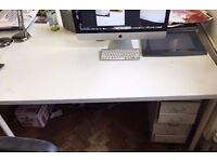 large White office/studio desk for sale! cash and collect only! bargain!!!