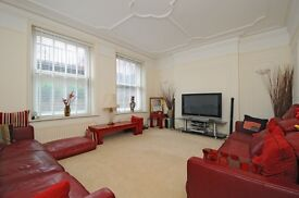 Incredibly large 4 double bedroom flat with communal gardens!
