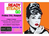 FRIDAY 24th AUGUST - 60s 70s SOUL / REGGAE / MOTOWN with DOUBLE BARREL – KEYNSHAM - CLUB 22