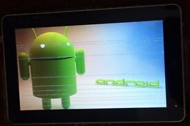 10.2 inch android tablet - When you plug tablet on charge, Turns on, Gets stuck on android icon.