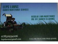 Leps Lawns Garden Maintenance Services