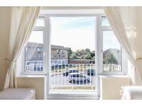 Fantastic split level two bedroom , first floor maisonette to rent on Abbey Park! Available April!