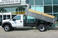 2015 Ford F-550 2wd diesel with new dump box