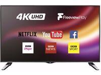 JVC LT-49C860 Smart 4K Ultra HD 49 Inch LED TV a Freeview Play, USB Media Player, WiFi - New Model