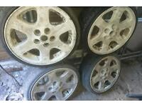 "Genuine 18"" land rover wheels"