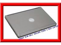 Cheap Slim Dell core 2 duo 2.4Ghz 2GB Ram 80GB hard drive 1.2Kg Weight Win 7 good condition