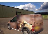 Mobile coffee van - Duel fuel
