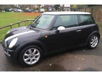 AUTOMATIC MINI COOPER FULL LEATHER TRIM AIR CONDITIONING SERVICE HISTORY AIR CONDITIONING AUTO MINI