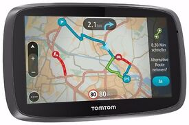 "** NEW Sealed TomTom GO 5000 EU - 5"" Sat Nav & EU Lifetime Maps & Traffic **"