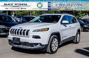 2016 Jeep Cherokee NORTH | HTD SEATS | BACKUP CAM | 8.4 DISPLAY