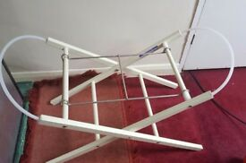Cot stand moses basket stand babies r us