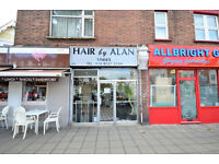 W13: A1 SHOP and ONE BED FLAT premises in excellent location